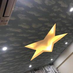 Công trình thi công Giấy dán tường nhà Chị Trang Chung Cư Meco ComPlex