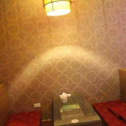Công trình thi công Giấy dán tường quán cafe anh Tâm Lê Văn Lương