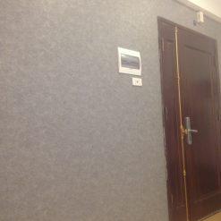 Thi công giấy dán tường Hàn Quốc nhà chị Hạnh Chung cư 36 Bộ Quốc Phòng
