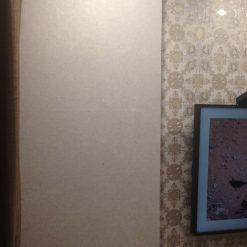 Thi công giấy dán tường Hàn Quốc nhà chị Hà Ngõ 46A Phạm Ngọc Thạch